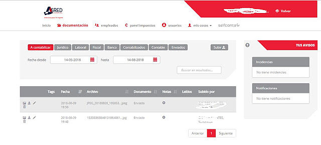 Acceso a Plataforma On-line Asredcomercial